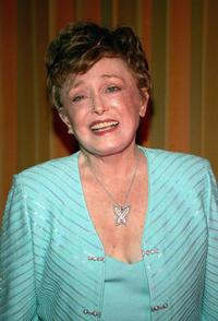Rue McClanahan at the opening night of