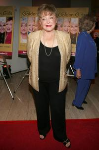 Rue McClanahan at the DVD release party for