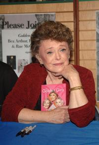 Rue McClanahan at the book signing for her new book