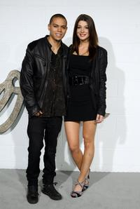 Evan Ross and Guest at the Chloe Los Angeles LA Boutique Opening Party.