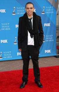 Evan Ross at the 39th NAACP Image Awards.