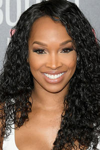 Malika Haqq at the premiere of