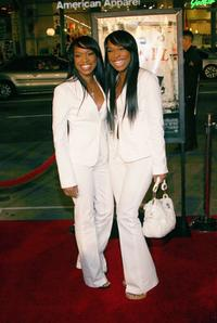 Khadijah Haqq and Malika Haqq at the premiere of