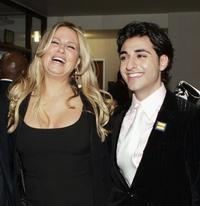 Jennifer Coolidge and Tony Yalda at the premiere of