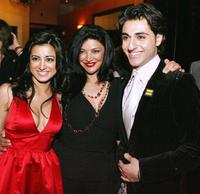 Noureen DeWulf, Shohreh Aghdashloo and Tony Yalda at the after party of the premiere of