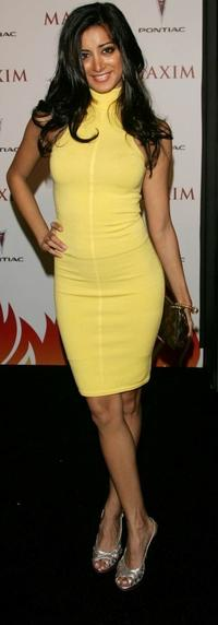 Noureen DeWulf at the Maxim Hot 100 Party.