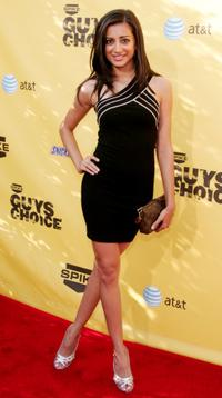 Noureen DeWulf at the taping of Spike TV's First Annual