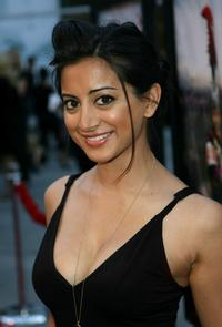 Noureen DeWulf at the premiere of