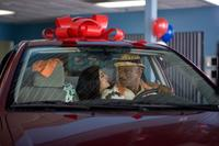 Noureen DeWulf as Heather and Ving Rhames as Jibby Newsome in