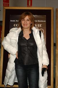 Blanca Portillo at the premiere of
