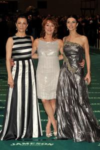 Blanca Portillo, Gracia Querejeta and Maribel Verdu at the 22nd Goya Cinema Awards.