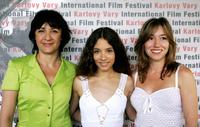 Blanca Portillo, Yohana Cobo and Lola Duenas at the 41st Karlovy Vary International Film Festival (KVIFF).