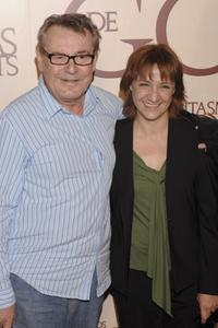 Milos Forman and Blanca Portillo at the photocall of