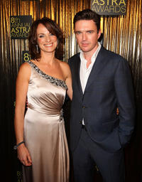Catherine McClements and Matt Day at the 8th annual ASTRA Awards in Australia.
