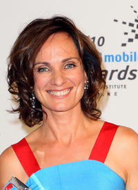 Catherine McClements at the 2010 Samsung Mobile AFI Awards in Australia.