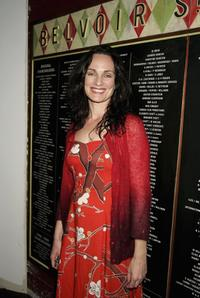 Catherine McClements at the Company B's 2007 season launch.