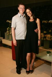 Kate Dickie and Guest at the 2007 Bangkok International Film Festival.