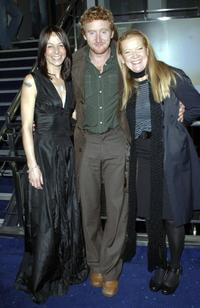 Kate Dickie, Tony Curran and Andrea Arnold at the screening of