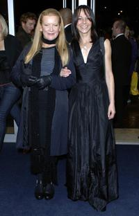 Andrea Arnold and Kate Dickie at the screening of