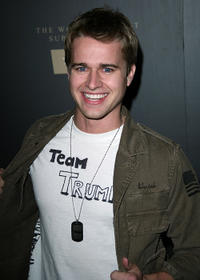 Randy Wayne at the Trump Vodka Launch party in California.