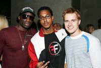 Sam Sarpong, Wesley Jonathan and Randy Wayne at the Howie Dorough Birthday Celebration in California.