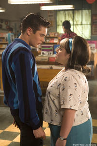 Zac Efron and Nikki Blonsky in