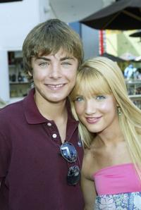 Zac Efron and Shelley Buckner at the Los Angeles premiere of