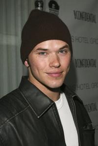 Kellan Lutz at the Los Angeles Confidential Pre-Oscar party.