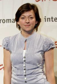 Jo Hartley at the photocall to promote