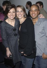 Jo Hartley, Vicky McClure and Andrew Shim at the premiere of