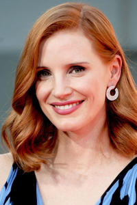 Jessica Chastain at the TCL Chinese Theater in Hollywood.