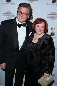 Pat Fraley and Edie McClurg at the 36th Annual Annie Awards.