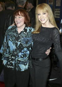 Edie McClurg and Kathy Griffin at the Groundlings 30th Anniversary Gala.