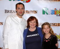 Edie McClurg, James Raven and Jennette McCurdy at the 2004 Hollywood Film Festival, attend the premiere of