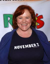 Edie McClurg at the premiere of