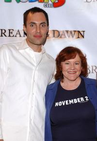 James Raven and Edie McClurg at the premiere of