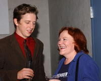 Edie McClurg and Hank Harris at the 2004 Hollywood Film Festival, attend the after party following the premiere of