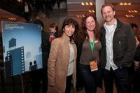 Robin Bronk, Deborah Scranton and Morgan Spurlock at the TFF Filmmaker party during the 2010 Tribeca Film Festival.