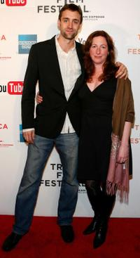 Reid Carolin and Deborah Scranton at the premiere of