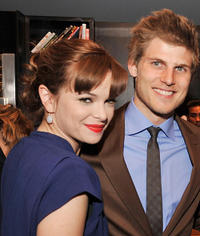 Danielle Panabaker and Travis Van Winkle at the after party for the California premiere of