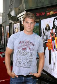 Travis Van Winkle at the premiere of