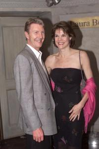 Byron Jennings and Carolyn McCormick at the party at Laura Belle restaurant in New York city.