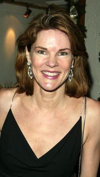 Carolyn McCormick at the after party of the play opening of