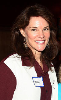 Carolyn McCormick at the 23rd annual Second Stage Theatre All-Star Bowling Classic fundraiser in New York.