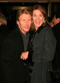 Byron Jennings and Carolyn McCormick at the opening night of