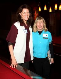 Carolyn McCormick and Carole Rothman at the 23rd Annual Second Stage Theatre All-Star Bowling Classic fundraiser.