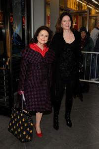 Tohva Feldshuh and Carolyn McCormick at the opening night of