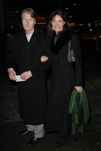Carolyn McCormick and Guest at the opening night of