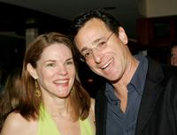 Carolyn McCormick and Bob Saget at the after party of the opening of