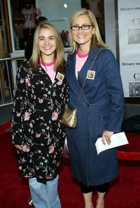 Maureen McCormick at the premiere of